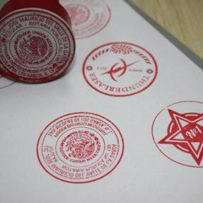 Stamp Engraving