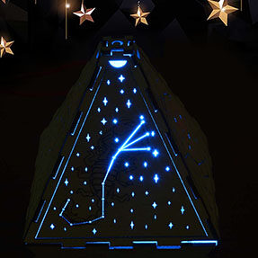 laser cutting design-How to make a Constellation light